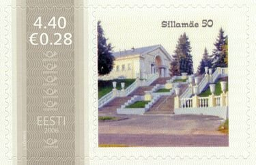 Почтовая марка Sillamäe 50